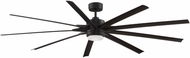 Fanimation Fans FPD8159DZW Odyn 84 Contemporary Dark Bronze LED 84  Ceiling Fan