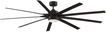 Fanimation FPD8159DZW Odyn 84 Contemporary Dark Bronze LED 84  Ceiling Fan