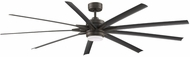 Fanimation Fans FPD8159GRW Odyn 84 Modern Matte Greige LED 84  Home Ceiling Fan
