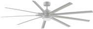 Fanimation Fans FPD8159MWW Odyn 84 Contemporary Matte White LED 84  Ceiling Fan