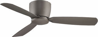 Fanimation Fans FPS7955GR Embrace Contemporary Matte Greige Halogen 52  Ceiling Fan Fixture