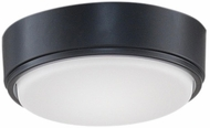 Fanimation Fans LK4660BLW Zonix Wet Custom Modern Black LED Fan Light Fixture