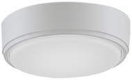 Fanimation Fans LK4660MWW Zonix Wet Custom Contemporary Matte White LED Fan Light Fixture