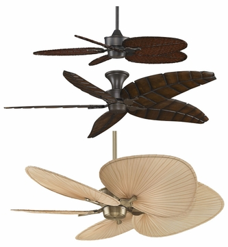 Fanimation Fans MAD3250 Islander Customizable Ceiling Fan with Variety of Finish, Blade, and Lighting Options