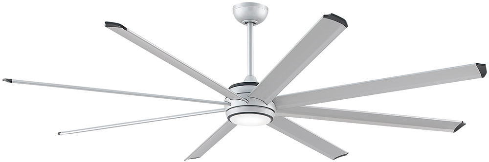 Fanimation Fans MAD7993SLW Stellar Modern Silver with Black Accents ...