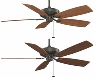 Fanimation Fans TF710OB Edgewood 60  Deluxe Ceiling Fan in Oil-Rubbed Bronze