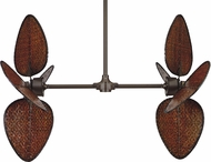 Fanimation FP240OB Palisade Contemporary Oil-Rubbed Bronze Ceiling Fan