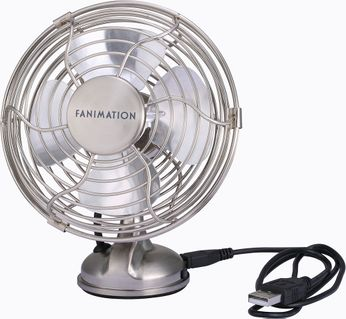 Fanimation FP6252BN Mini Breeze USB Brushed Nickel Fan