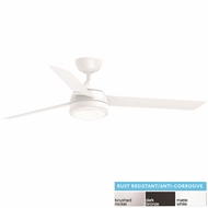 Fanimation FP6729 Xeno Wet LED Indoor / Outdoor 56  Ceiling Fan