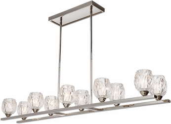 Feiss F3127-10PN Rubin Contemporary Polished Nickel Island Lighting