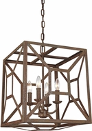 Feiss F3171-4WI Marquelle Modern Weathered Iron Entryway Light Fixture