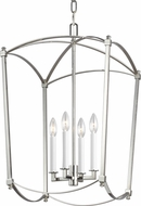 Feiss F3322-4PN Thayer Polished Nickel 16 Foyer Light Fixture