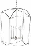 Feiss F3323-5PN Thayer Polished Nickel 19 Foyer Lighting Fixture