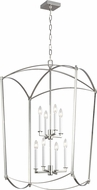 Feiss F3324-8PN Thayer Polished Nickel 24 Entryway Light Fixture