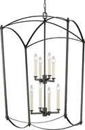 Feiss F3324-8SMS Thayer Smith Steel 24 Entryway Light Fixture