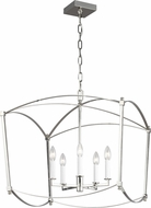 Feiss F3325-5PN Thayer Polished Nickel 23 Foyer Light Fixture