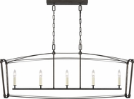 Feiss F3326-5SMS Thayer Smith Steel Kitchen Island Lighting