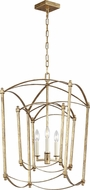 Feiss F3327-3ADB Thayer Antique Gild Entryway Light Fixture
