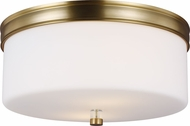Feiss FM401BBS Lismore Burnished Brass Overhead Light Fixture