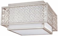 Feiss FM499SRS Kenney Sunrise Silver Ceiling Lighting