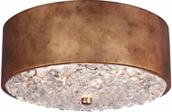 Feiss FM510ABBS Dori Modern Antique Burnished Brass Flush Lighting