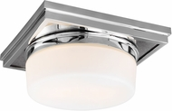 Feiss FM514CH Mandie Contemporary Chrome Flush Ceiling Light Fixture