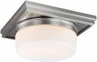 Feiss FM514SN Mandie Modern Satin Nickel Flush Mount Ceiling Light Fixture