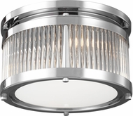 Feiss FM516CH Paulson Contemporary Chrome Overhead Lighting Fixture