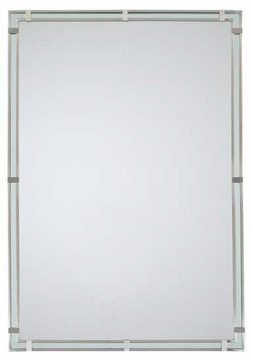 Feiss MR1089BS Parker Place Wall Mirror