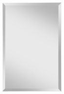 Feiss MR1154 Infinity Wall Mounted 24 Inch Wide Rectangle Mirror