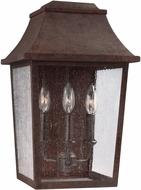Feiss OL11902PCR Estes Old World Patina Copper Outdoor Wall Mounted Lamp