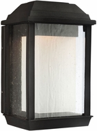 Feiss OL12800TXB-LED McHenry Textured Black LED Outdoor Light Sconce
