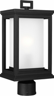 Feiss OL12907TXB Roscoe Contemporary Textured Black Exterior Post Lighting