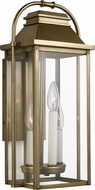 Feiss OL13200PDB Wellsworth Painted Distressed Brass Outdoor 8.5  Wall Light Sconce