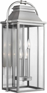 Feiss OL13202PBS Wellsworth Painted Brushed Steel Exterior Lighting Wall Sconce