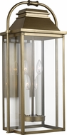 Feiss OL13202PDB Wellsworth Painted Distressed Brass Outdoor 12.5  Wall Sconce