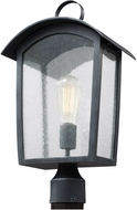 Feiss OL13307ABLK Hodges Retro Ash Black Exterior Post Light
