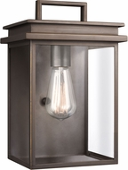 Feiss OL13601ANBZ Glenview Antique Bronze Outdoor Wall Lamp