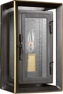 Feiss OL13800ANBZ-PBB Urbandale Antique Bronze / Painted Burnished Brass Outdoor Wall Light Fixture