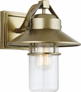 Feiss OL13901PDB Boynton Contemporary Painted Distressed Brass Outdoor 10.5  Wall Lighting