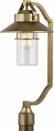 Feiss OL13908PDB Boynton Contemporary Painted Distressed Brass Outdoor Post Lamp