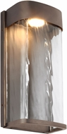 Feiss OL14101ANBZ-LED Bennie Contemporary Antique Bronze LED Exterior Wall Sconce