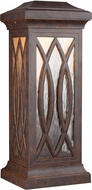 Feiss OL14201WAL-LED Rolland Walnut LED Outdoor Lighting Sconce