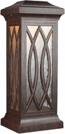 Feiss OL14203WAL-LED Rolland Walnut LED Outdoor Wall Sconce Lighting