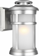 Feiss OL14301PBS Newport Painted Brushed Steel Exterior 7.5 Wall Lamp