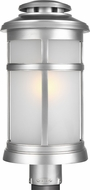Feiss OL14307PBS Newport Painted Brushed Steel Outdoor Post Lighting