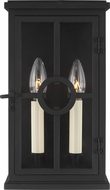Feiss OL15300TXB Belleville Textured Black Outdoor Wall Sconce