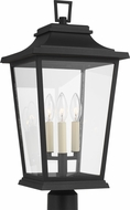Feiss OL15407TXB Warren Textured Black Outdoor Post Light
