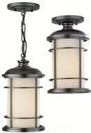 Feiss OL2209-BB Lighthouse 1-light 13 inch Exterior Hanging Lamp in Burnished Bronze