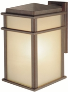 Feiss OL3402-CB Mission Lodge 1-light 15 inch Outdoor Wall Lamp in Corinthian Bronze